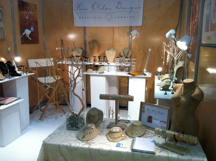 Jewelry Booth Displaying Designer Jewelry Pam Older