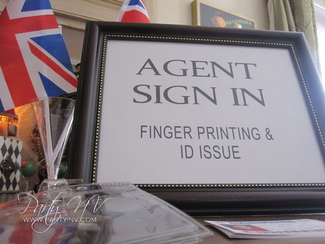 Make every agent an Id card. Include with invites or give out when we collect