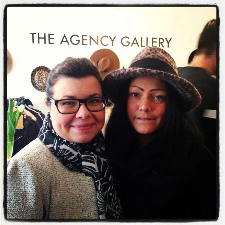 Edit Kunstlicher and Wictoria Hedman on pressday at The PR Agency
