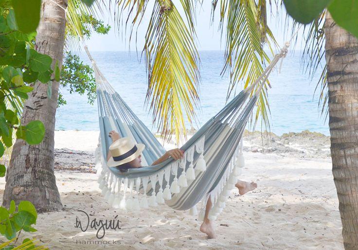 Handmade hammock, gray hammock, tassels hammock, boho hammock, luxury hammock