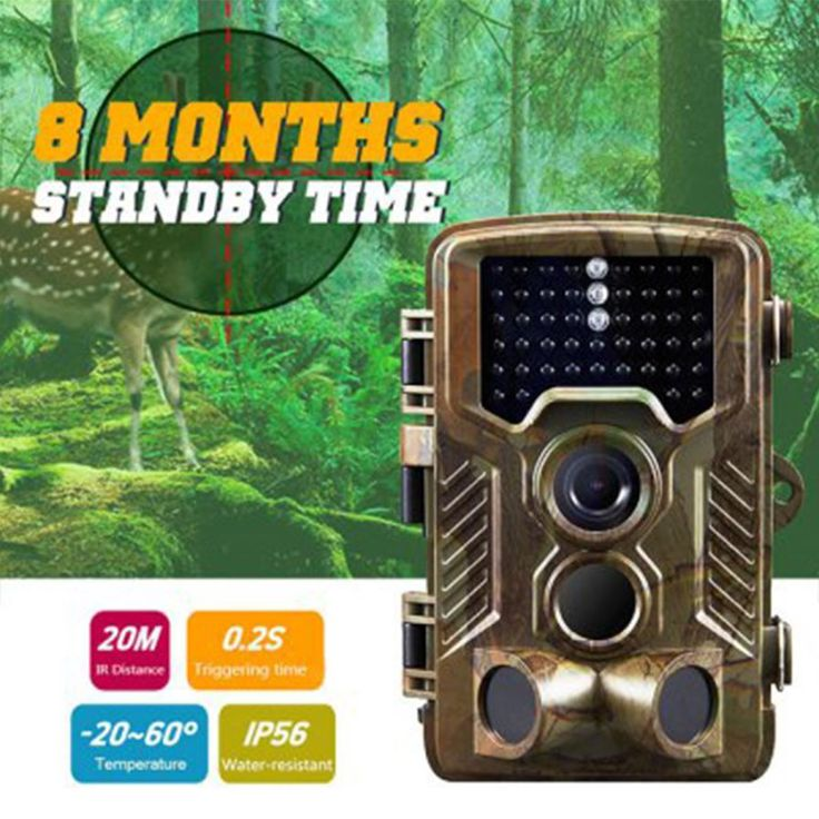 Waterproof HD Infrared Camera Tracking Hunting Camera - Blackish Green. Click to Buy on DealExtream (DX.com)