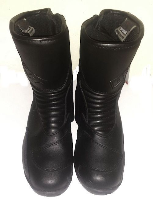 NEW BILT Hipora Women Motorcycle Boots Black Leather Waterproof Size 11 US  44 EU