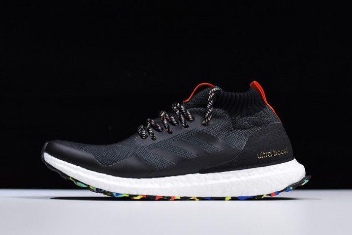 59eeaf600c77a 2018 adidas Ultra Boost Mid Black Multicolor-Black G26841