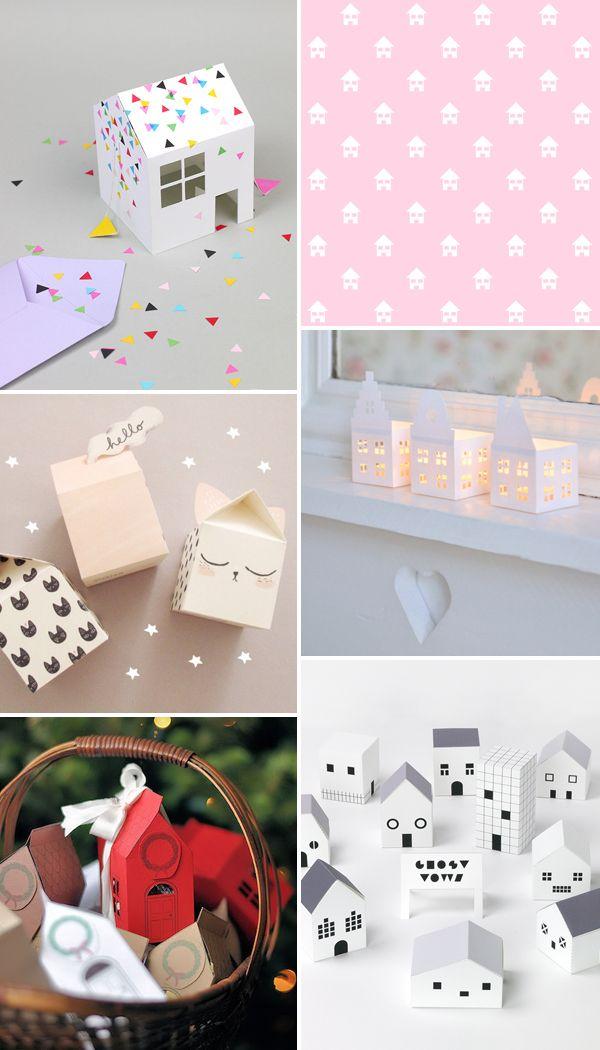 Internet Love: 6 projetos FOFOS de casinhas para fazer em casa ∴ BLOG Não Me Mande Flores