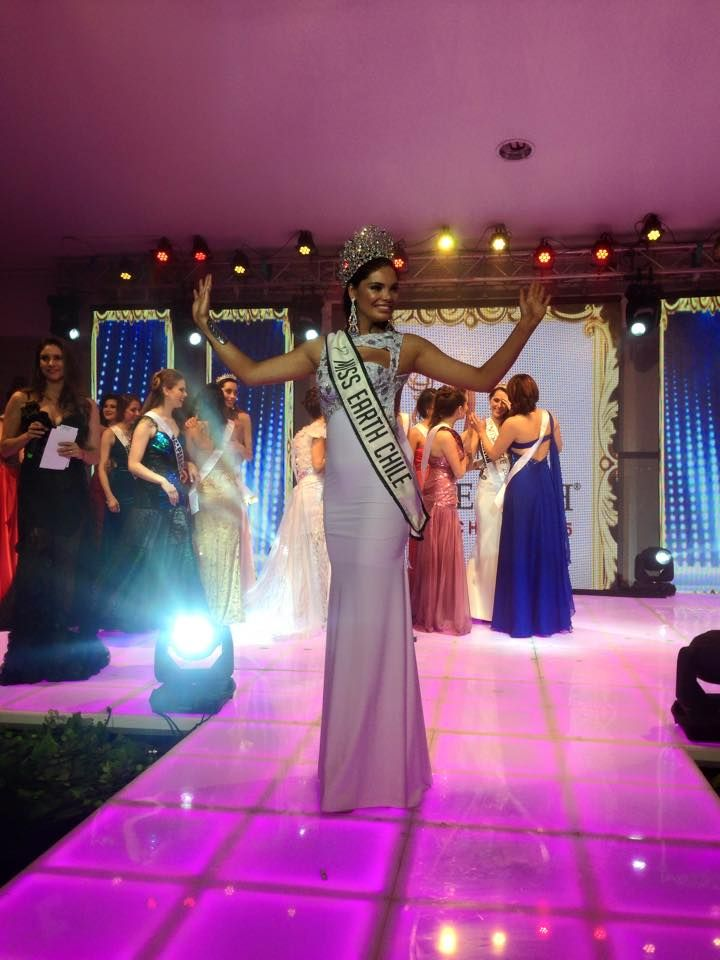 Nativad Leiva -Miss Earth Chile 2015