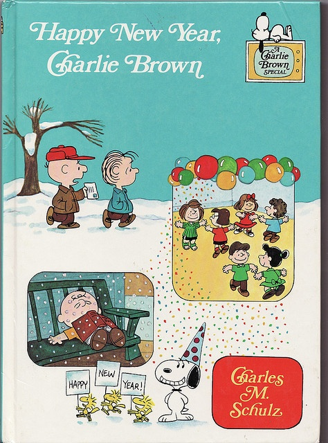 Happy New Year, Charlie Brown! | Snoopy New Year's Eve ...