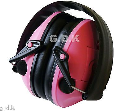 Gdk pink ear #defenders, #electronic ear muffs, ear protection, #shooting ear muf,  View more on the LINK: 	http://www.zeppy.io/product/gb/2/291089074296/
