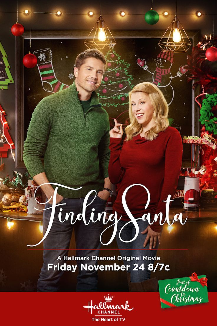 Finding Santa - Jodie Sweetin and Eric Winter come together and find the Christmas spirit on November 25th. #CountdownToChristmas #HallmarkChannel #FindingSanta