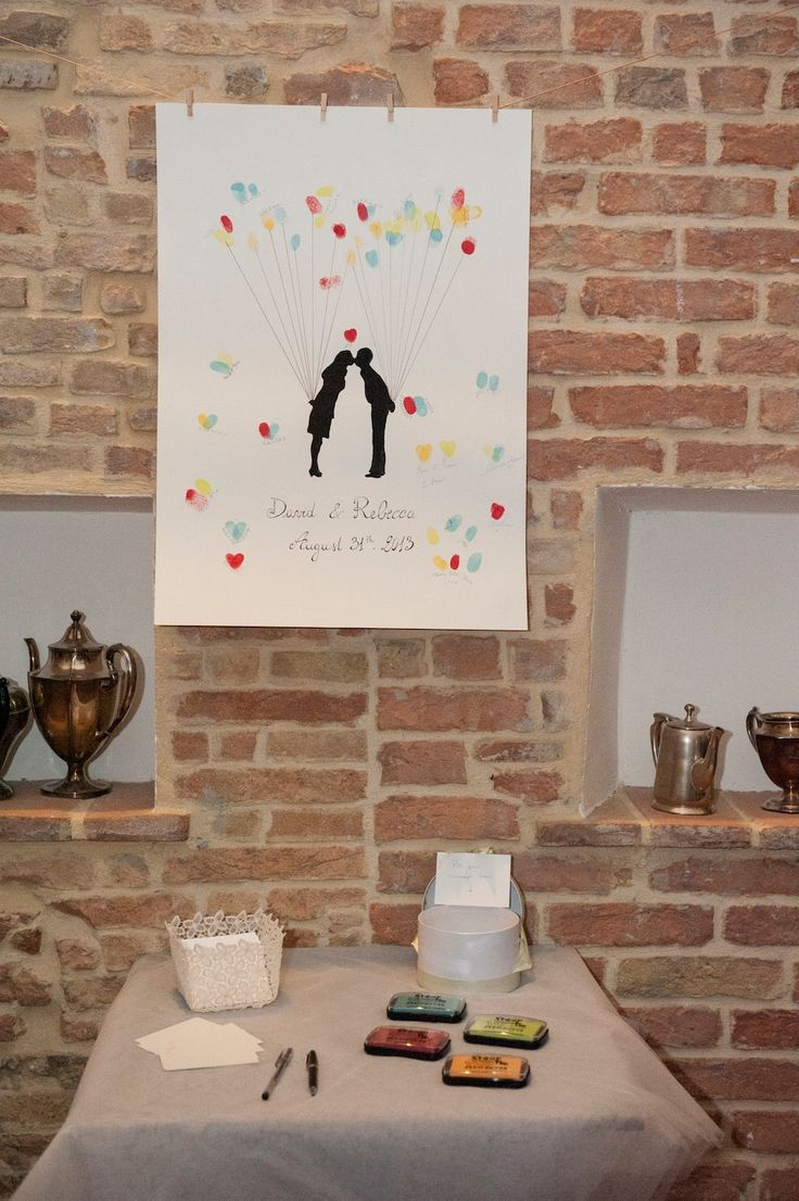 A special guestbook for very special bridegrooms