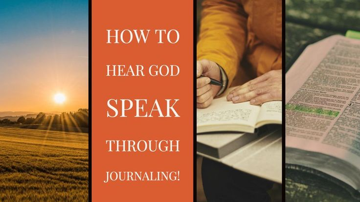 how to hear god speak to you