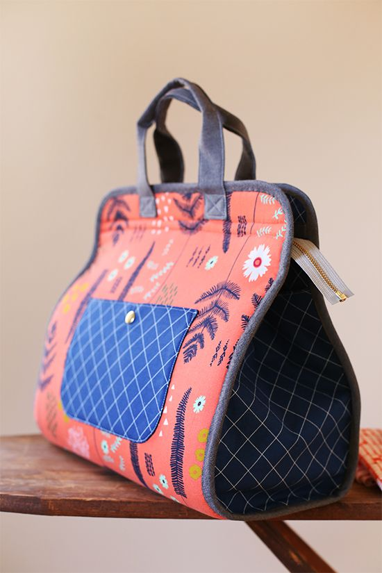Maker's Tote PDF sewing pattern by Anna Graham | Noodlehead