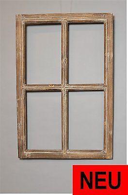 Fresh Deko Fenster Holz Fensterrahmen Holzfenster Shabby Antik Look x cm