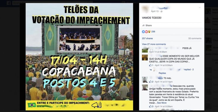 Don't Miss This Weekend's Top Sporting Event in Brazil: Presidential Impeachment
