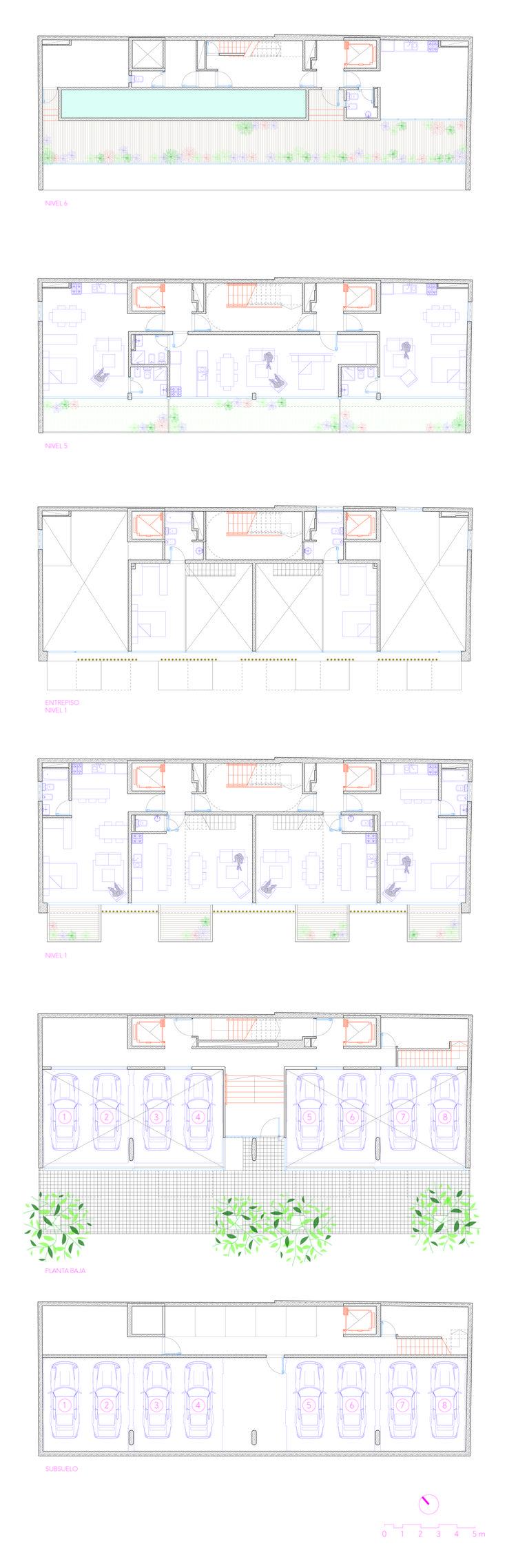 Galer 237 a de casa patio ar arquitetos 22 - Gallery Of Ancon Building Irene Joselevich Ana Rascovsky Billy Gutraich 13