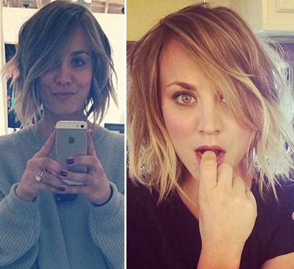 Last month, Kaley Cuoco teased her Instagram followers by tricking them into believing she cut her hair off, but now, she really has! On April 23, the actress posted a pic to show off her brand new...