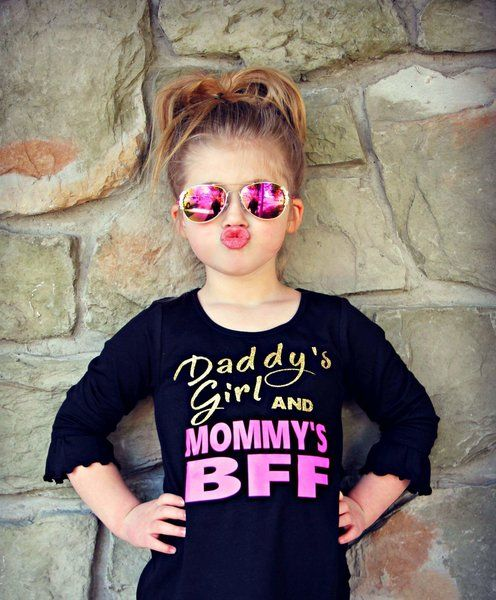 Daddy's Girl, Mommy's BFF Tshirt