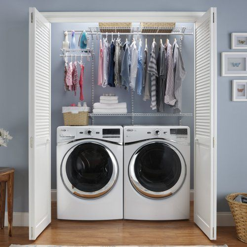 Laundry organization.