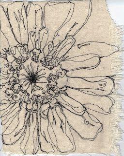 "Carol Sloan Studios: ""Blue Point"" Zinnias"