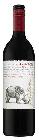 Rigamarole Red wine - an Okanagan wine blending Gamay, Pinot Noir & Merlot. So good.