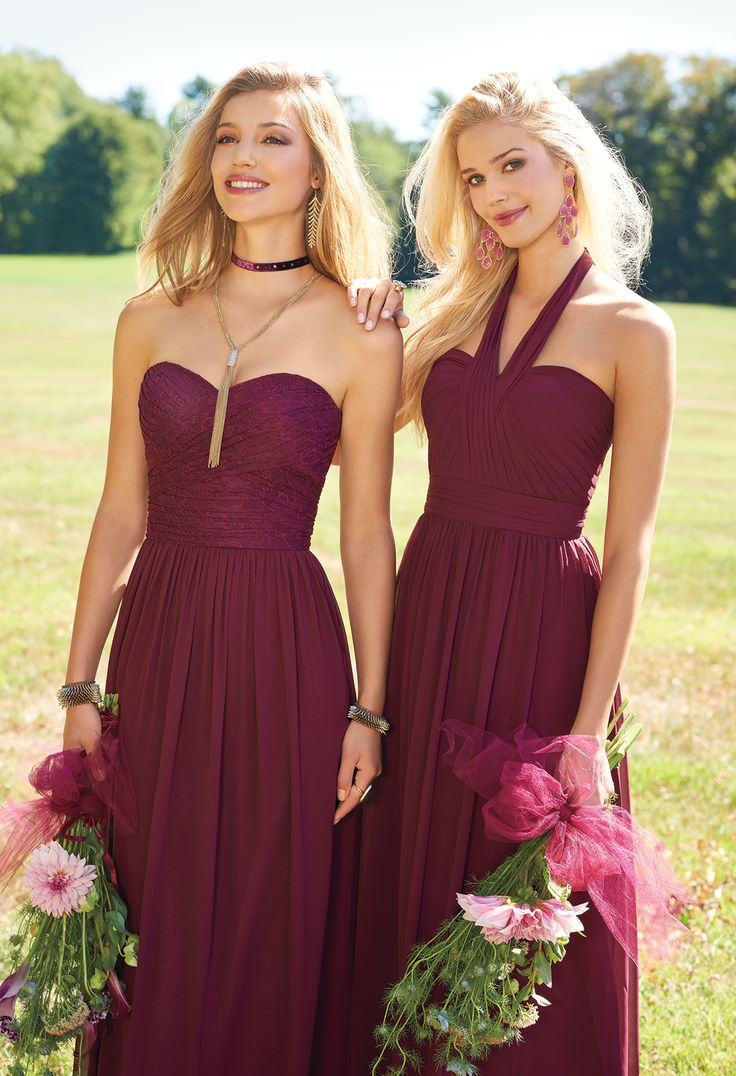 84 best bridesmaid dresses images on pinterest complement your bridal gown with these classic bridesmaids dresses the sweetheart strapless neckline criss ombrellifo Choice Image