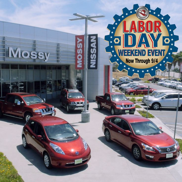 THE 5 DAY ONLY SALE IS ON! Hurry into Mossy Nissan for HUGE Labor Day Savings! https://www.mossynissan.com/specials/