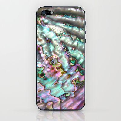 Abalone Shell IPhone Skin $15.00