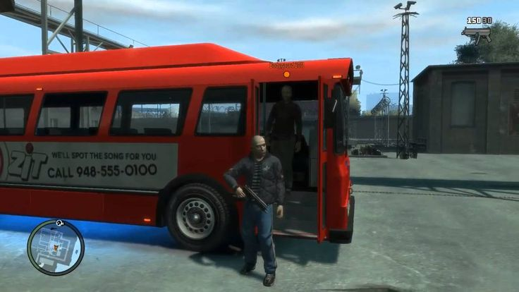 GTAIV Magic Bus with GVD