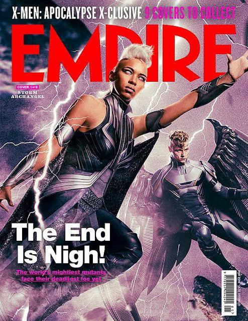 'X-Men: Apocalypse' Cast on Nine Empire Magazine Covers