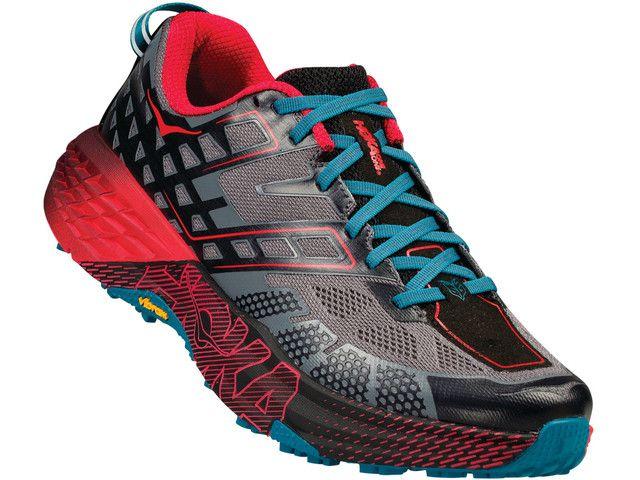 Hoka One One Speedgoat 2 Buty Do Biegania Mezczyzni Czerwony Czarny Mens Trail Running Shoes Trending Womens Shoes Trending Shoes