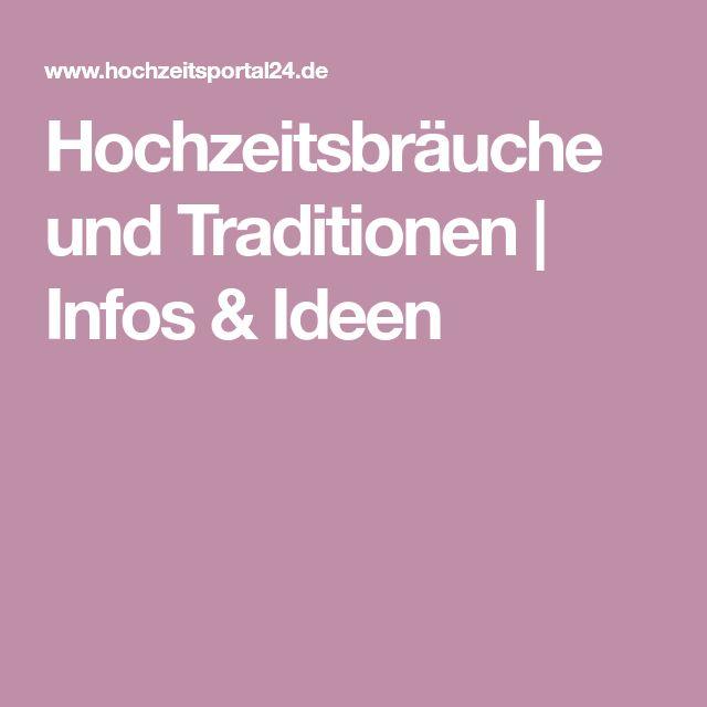 Hochzeitsbräuche und Traditionen | Infos & Ideen