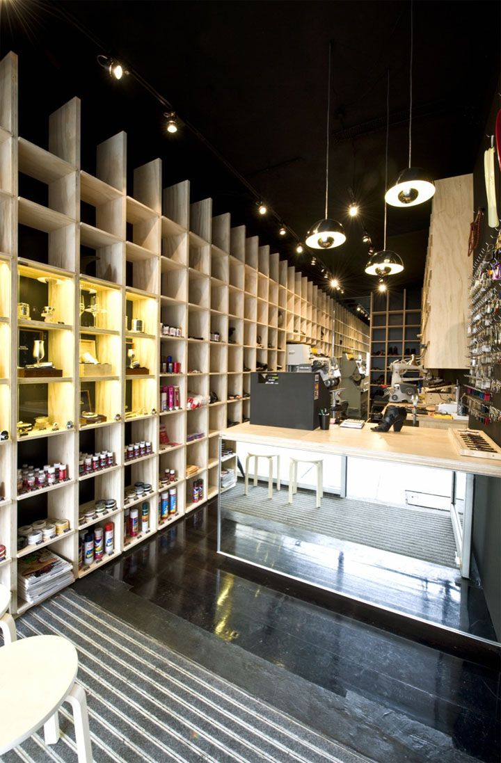 Best 25 small store design ideas on pinterest cafe shop - Interior design for retail stores ...