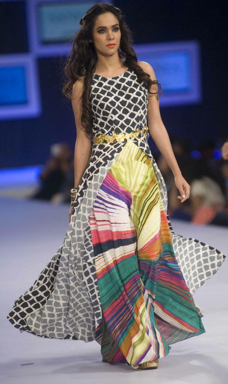 Sania Maskatiya Collection at PFDC Sunsilk Fashion Week 2014 Day 1  #pfdc #sunsilkfashionweek #pfdcsunsilk