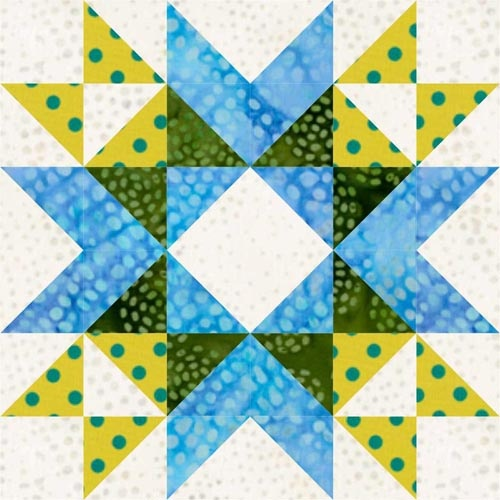 Wyoming Valley Star Quilt Block http://lcscottage.wordpress.com/2013/05/24/wyoming-valley-star-quilt-block/