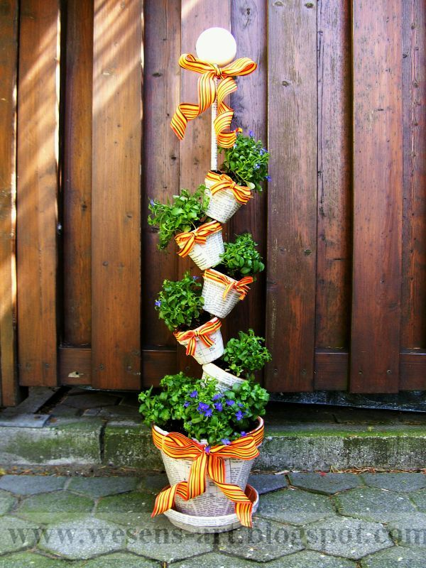 Garden Pot Ideas Decoration 25 Unique Decorated Flower Pots Ideas On Pinterest  Painted .