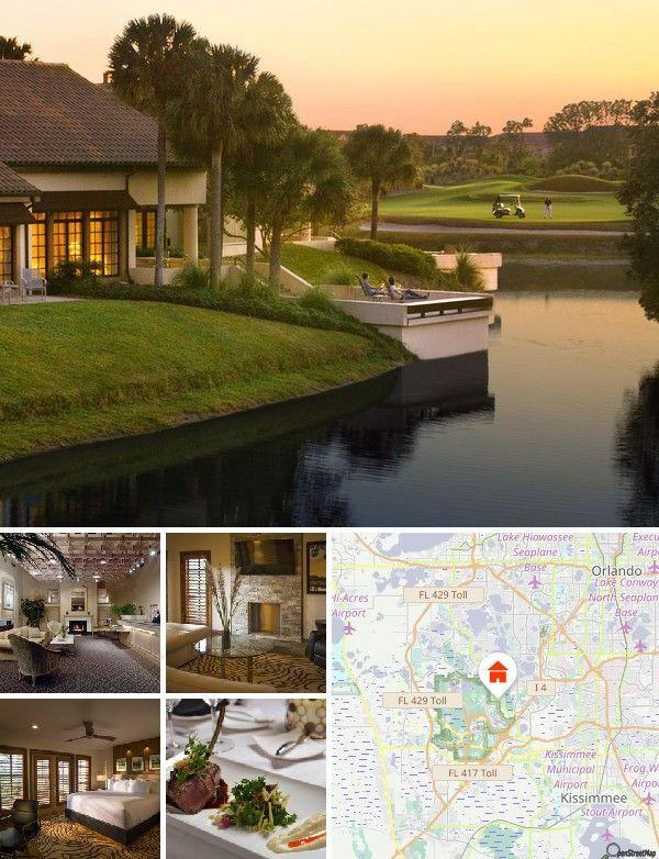 Se trata de un lujoso complejo de golf en Orlando, con 45 hoyos en un campo de golf diseñado por Jack Nicklaus. En el establecimiento se encontrarán restaurantes, bares y pubs. El complejo se sitúa a solo unos minutos de los principales parques temáticos y de atracciones. Universal Studios y el Centro Espacial John F. Kennedy quedan a unos 15 y 55 minutos en coche, respectivamente.