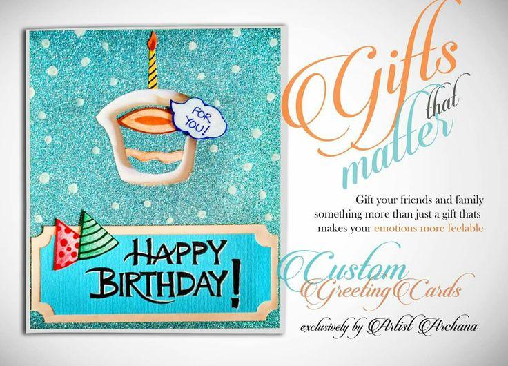 Motion birthday greeting