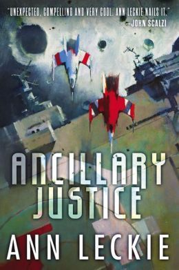 """Ancillary justice"", by Ann Leckie - Now isolated in a single frail human body, Breq, an artificial intelligence that used to control a massive starship and its crew of soldiers, tries to adjust to her new humanity while seeking vengeance and answers to her questions."