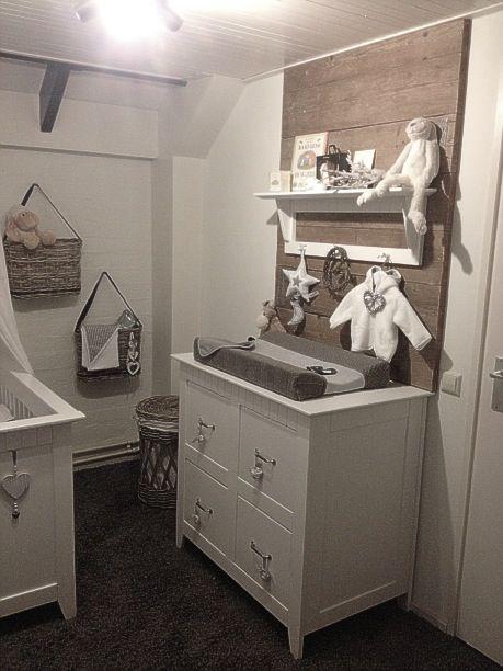 Babykamer met steigerhout ❤