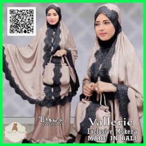 mukena vallerie MGA06 brown