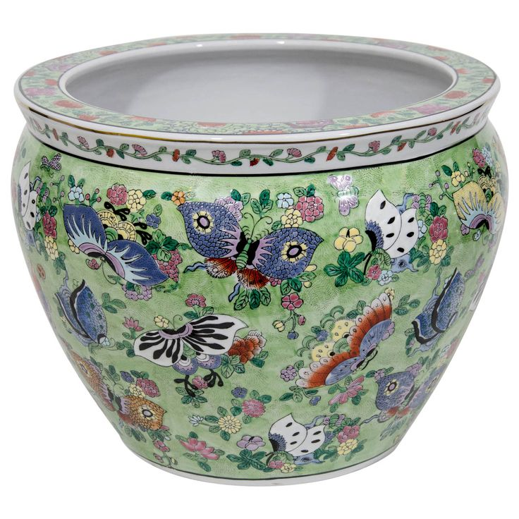 630 best images about chinese porcelain 2 colorfull on for Chinese fish bowl
