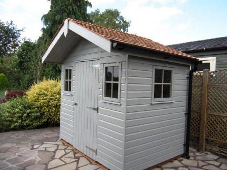 Garden Sheds And Summerhouses 143 best customer garden sheds images on pinterest   garden sheds