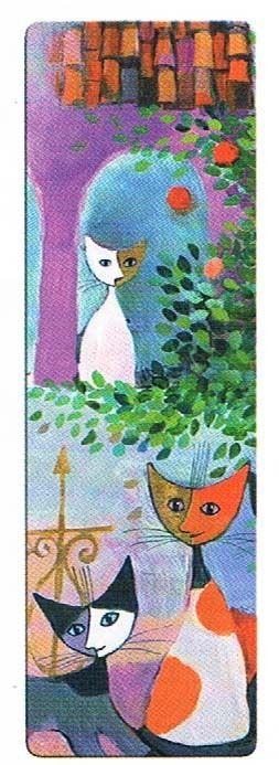 Rosina Wachtmeister - Lesezeichen - Lovesong - 67403 - Katzen
