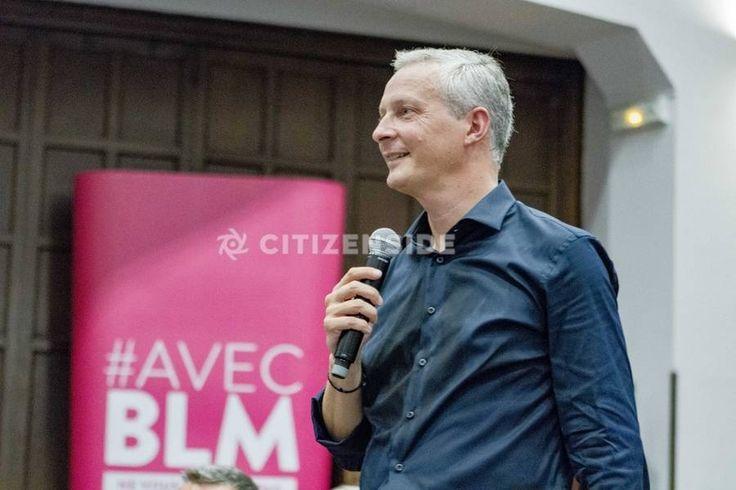 Paris : Meeting de Bruno Le Maire à l'Eglise américaine - A la une - Citizenside France