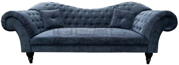 niebieska sofa chesterfield, blue chesterfield, pluszowa sofa chesterfield, velvet chesterfield, styl angielski, fotel chesterfield, armchair   niebieski, błękitny, lazurowa, indygo, turkusowa, navy, Sofa, granatowa  sofa_chesterfield_madame_IMG_4792g.jpg (1200×439)