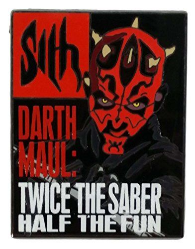 Disney Pin - Reveal / Conceal Mystery Collection - Star Wars Magazines - Darth Maul //Price: $29.95 & FREE Shipping //     #starwarsfan
