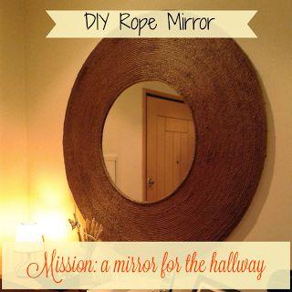 Creme Pimenta: DIY ou a aventura de um espelho para o hall