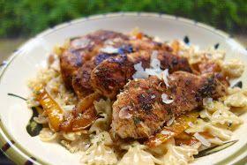 Plain Chicken: Jerk Chicken Pasta