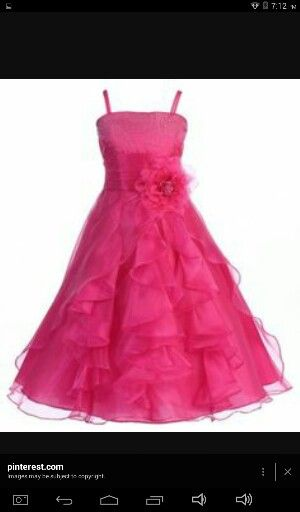 Wonder Lily Graduation Pageant And Flower Long Dress Sizes 4 To 16 Fuchsia Find This Pin More On Father Daughter Dance Dresses