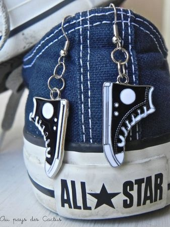 Converse earrings!