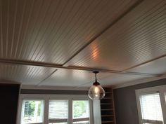 inexpensive ceiling covering ideas - Google Search